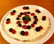 Hina's birthday cheese cake