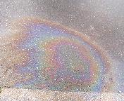 道ばたの虹2