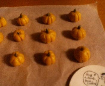 かぼちゃクッキー(  準備中)