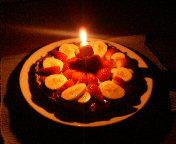 ハル1歳のバースデーケーキ