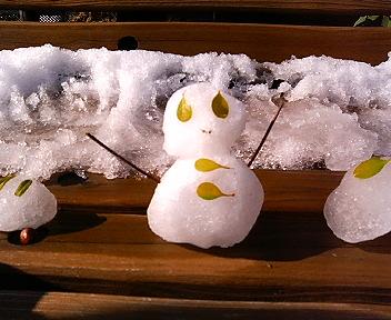 ミニ雪だるまちゃん