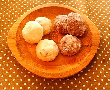 バレンタインのクッキー2種